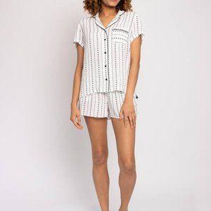 Ecovero Shirt and Short Pajama Set